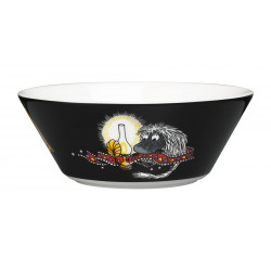Moomin Bowl Ancestor Black Arabia New 2016