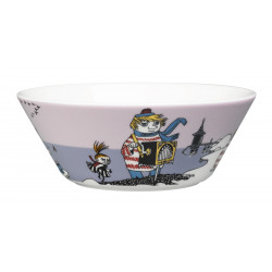 Moomin Bowl Tooticky Violet Arabia New 2016