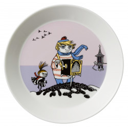 Moomin Plate Tooticky Violet Arabia New 2016