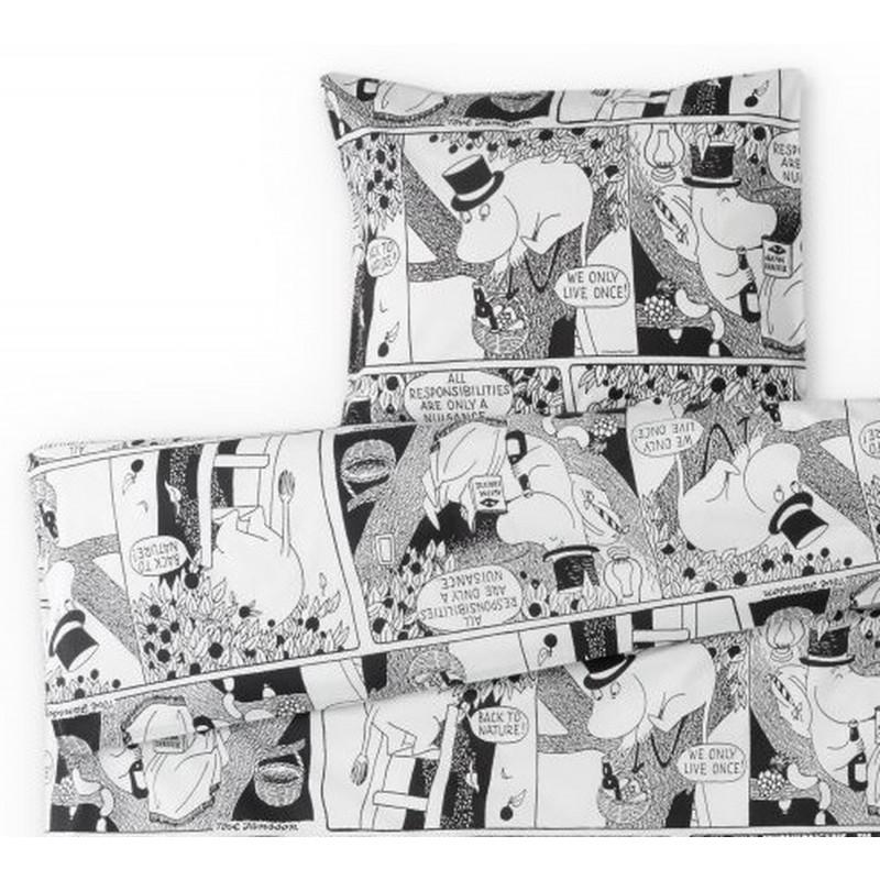 Moomin Duvet Cover Pillowcase Comics Moominpappa Finlayson 240 x 210