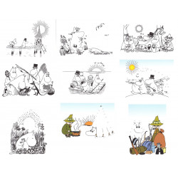 Moomin Activities Postcard