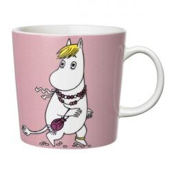 Moomin Mug Arabia Snorkmaiden Pink 2013 0.3 L Arabia