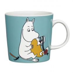 Moomin Mug Arabia Moomintroll Turquoise New 2013