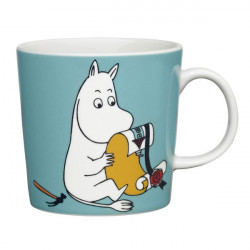 Moomin Mug Arabia Moomintroll Turquoise 2013 0.3 L Arabia