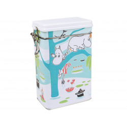 Moomin Coffee Tea Tin Can Pond Martinex