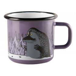 Moomin Enamel Mug Groke Purple 3.7 dl Muurla
