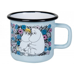 Moomin Enamel Mug Sweetheart 3.7 dl Muurla