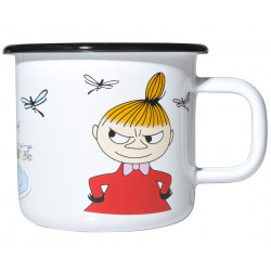 Moomin Enamel Mug Colors Little My 0.37 L