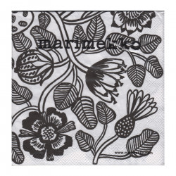 Marimekko Napkins Tiara 25 x 25 cm, 20 pcs Karto