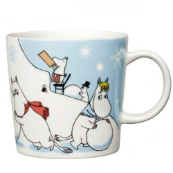 Moomin Seasonal Mug Winter Games Christmas 2011
