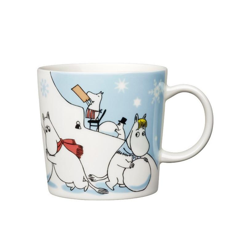 Moomin Seasonal Mug Winter Games Christmas 2011