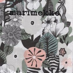 Marimekko Paper Napkins Kasvu 33 x 33 cm, 20 pcs