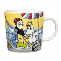 Moomin Seasonal Mug Snorkmaiden and the Poet Summer 2013