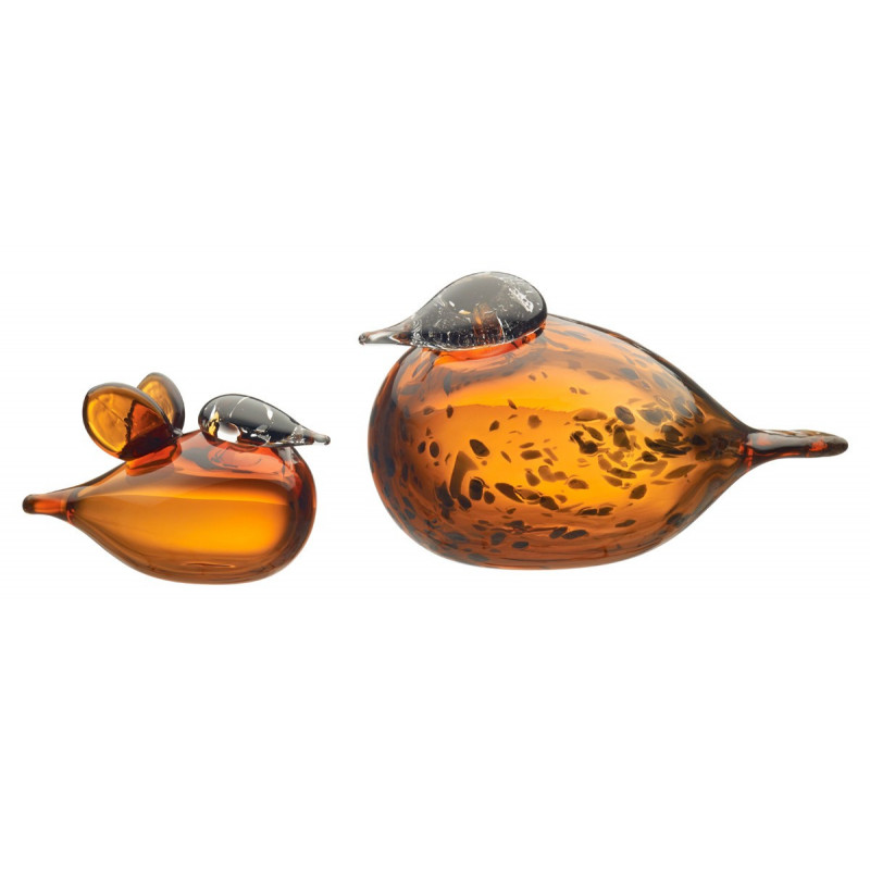 Birds by Toikka Mother and Baby Iittala 2 Birds