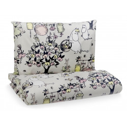Moomin Tove 100 Duvet Cover Pillowcase 85 x 125 35 x 45 cm