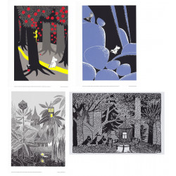 Moomin Set of 4 Posters...