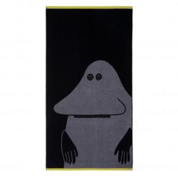 Moomin Bath Towel Groke Grey 70x 140 cm Finlayson