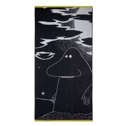 Moomin Bath Towel Groke Grey 90 x 180 cm Finlayson