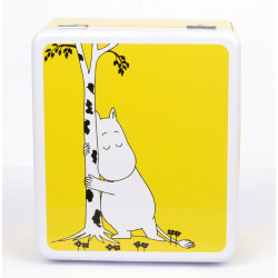 Moomin Tea Bags Tin Can Moomintroll Yellow Martinex