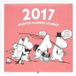 Moomin Mini Wall Calendar 2017 20 x 20 cm Putinki