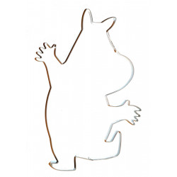 Moomin Jumbo Cookie Cutter Moomintroll 23 cm Martinex Finland
