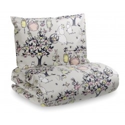 Moomin Celebration Tove 100 Duvet Cover Pillow Case 150 x 210 cm