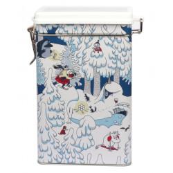 Moomin Winter Land Coffee Tea Tin Box Martinex