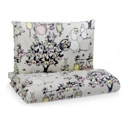 Moomin Celebration Tove 100 Duvet Cover Pillow Case 120 x 160 cm