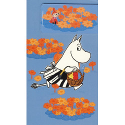Moomin Card Moominmamma with Magnet Bookmark Little My Karto