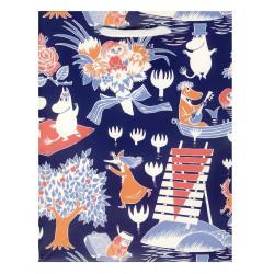 Moomin Present Paper Bag Magic Karto