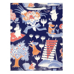 Moomin Present Paper Bag Magic Karto