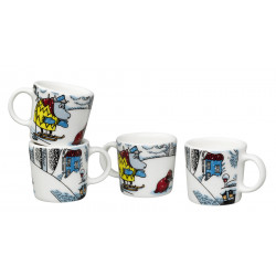 Moomin Snowhorse Minimugs Winter 2016 Arabia