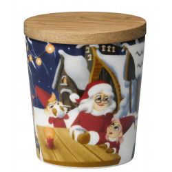 Santa Claus Jar 0.3 L Evening Village Arabia