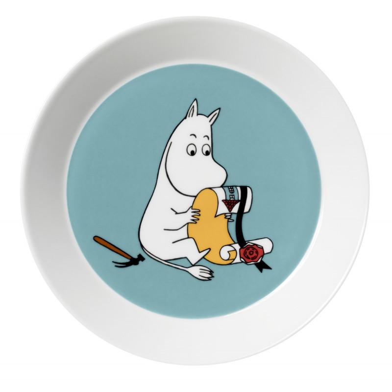 Moomin Plate Moomintroll Arabia New Model 2013