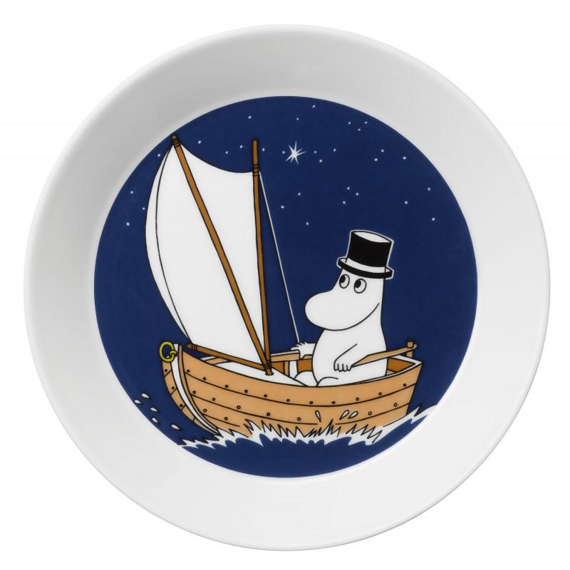 Moomin Plate Moominpappa Arabia