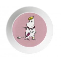 Moomin Plate Snorkmaiden Arabia