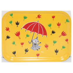 Moomin Birch Tray Little My Umbrella 27 x 20 cm