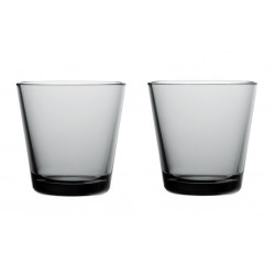 Kartio Grey 21 cl 2 pcs Iittala