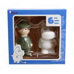 Moomin Bathtub Play Set Snufkin and Moomintroll