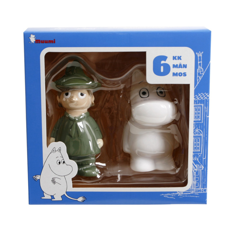 Moomin Bathtub Play Set Snufkin and Moomintroll - Finland Quality Design