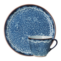 Ostindia Floris Mug 0.4 L and Plate 20 cm