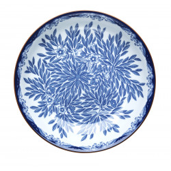 Ostindia Floris Deep Plate 22 cm
