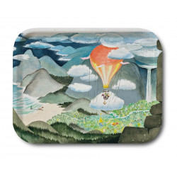 Moomin Birch Tray The Moominvalley Magician's Hat 27 x 20 cm
