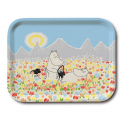 Moomin Birch Tray 27 x 20 cm Meadow
