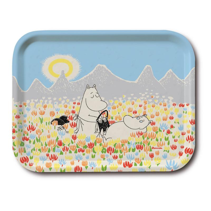 Moomin Birch Tray 27 x 20 cm Meadow