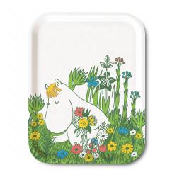 Moomin Birch Tray 27 x 20 cm Snorkmaiden Summer