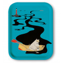 Moomin Birch Tray 27 x 20 cm River Blue
