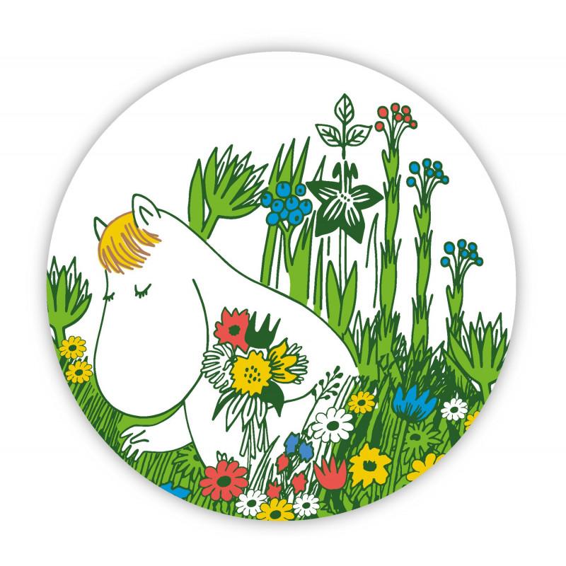 Mooomin Pot Coaster Round 21 cm Snorkmaiden Summer