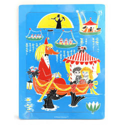 Moomin Wooden Puzzle Toffle and Miffle 19 x 27 cm