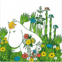 Moomin Paper Napkins 33 x 33 cm Snorkmaiden Summer